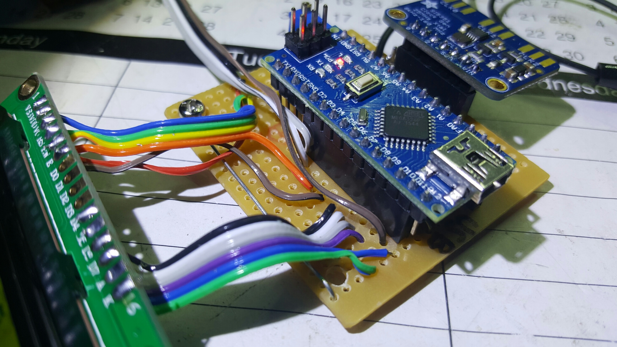 yet another arduino nano and si5351 digital vfo  bfo