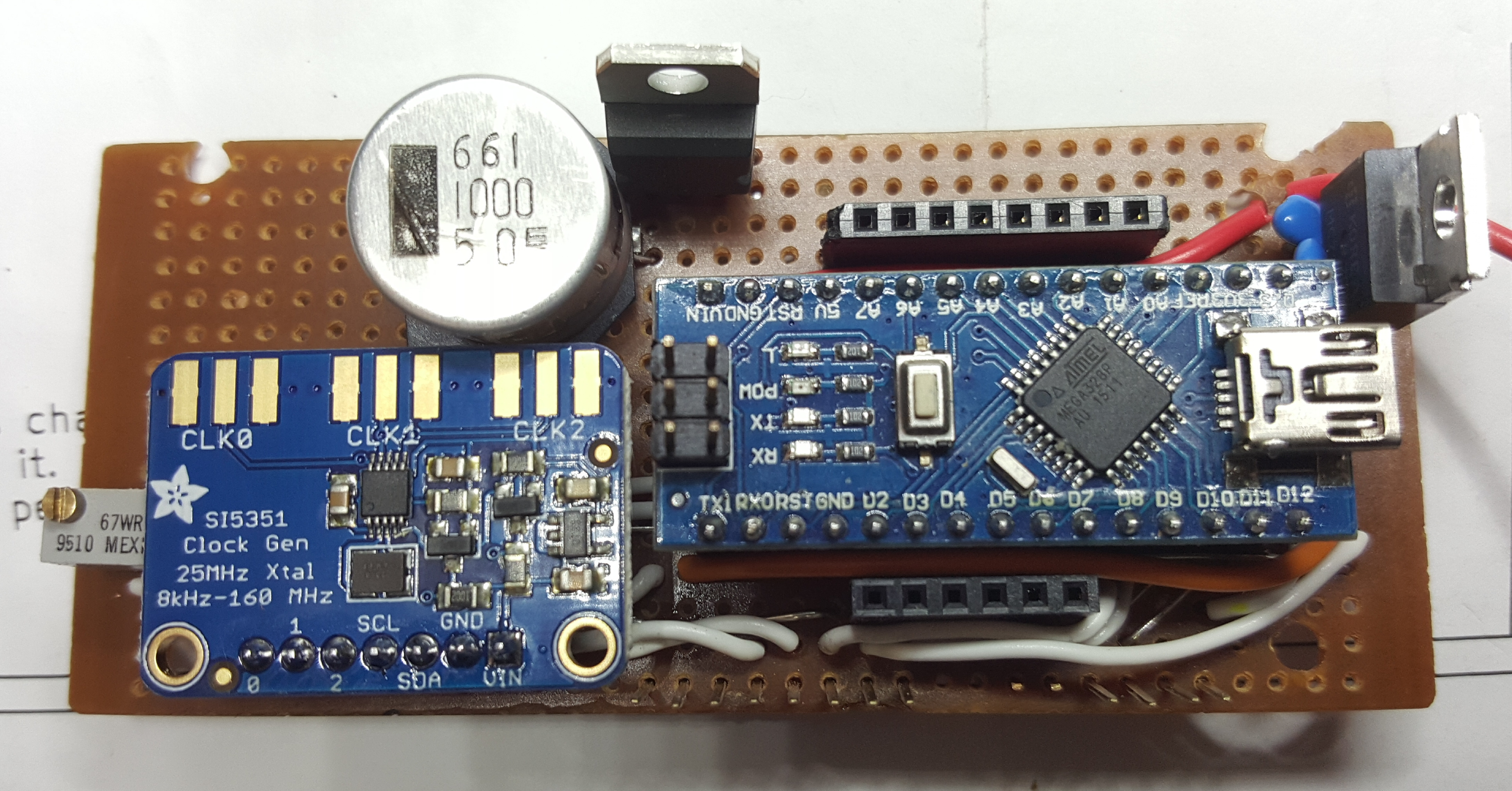 Watch furthermore 9312 moreover A Simple Si5351 Vfo And Bfo With S Meter in addition My Second Homebrew Arduinosi5351 Digital Vfo Controller further Color Sensor Module. on arduino encoder