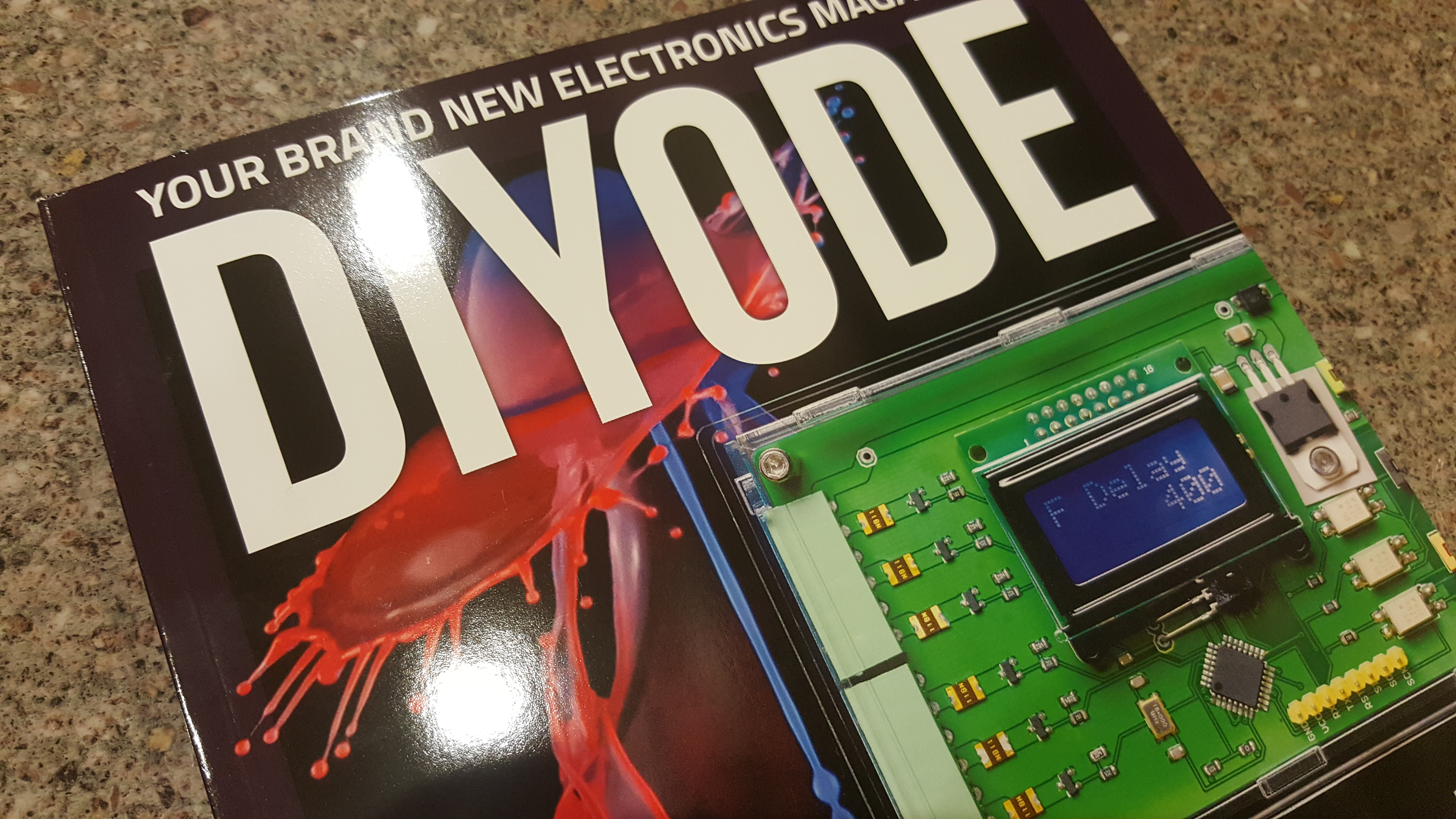 homebrew vk3hn page 3diyode, a new australian diy electronics magazine has just launched i picked up my first edition from the jaycar counter it\u0027s thick, glossy and oozes high