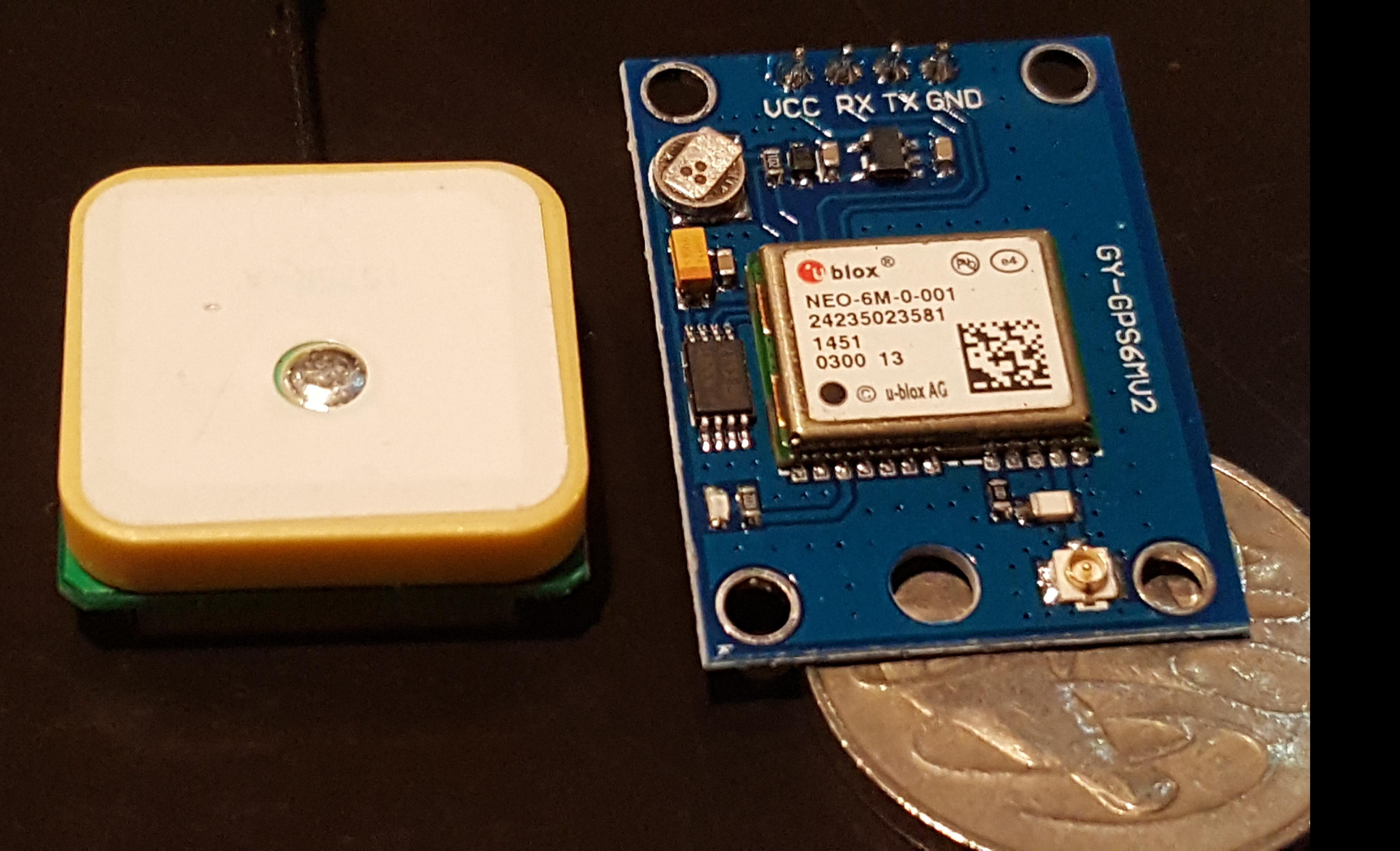 Arduino GPS experiment for SOTA | vk3hn